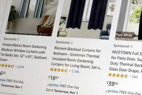 Ad business a boon for Amazon but a turn-off for shoppers