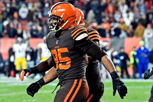 NFL upholds Browns DE Garrett's suspension, ending season