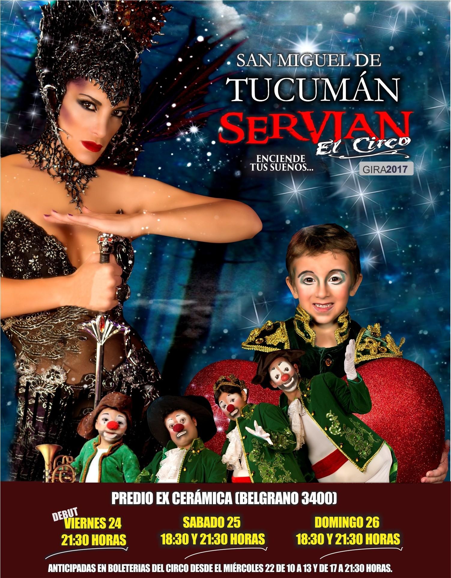 Gran Debut en #Tucumán - Viernes 24 - 21:30 hs