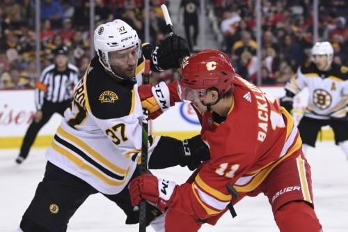 NHL roundup: After slow start, Bruins top Flames