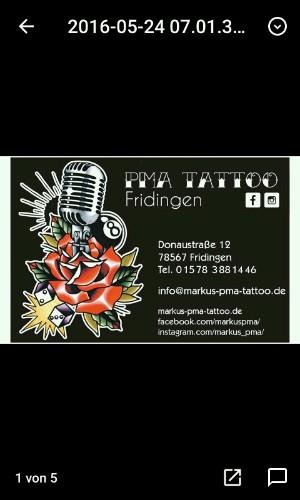 PMA Tattoo Fridingen a.D. - Magazine cover