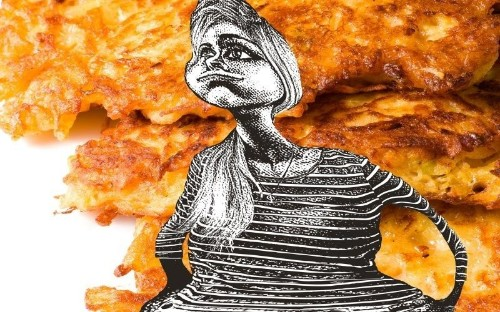 I Ate Potato Pancakes Til I Plotzed