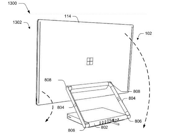 Microsoft patents a modular PC with stackable components