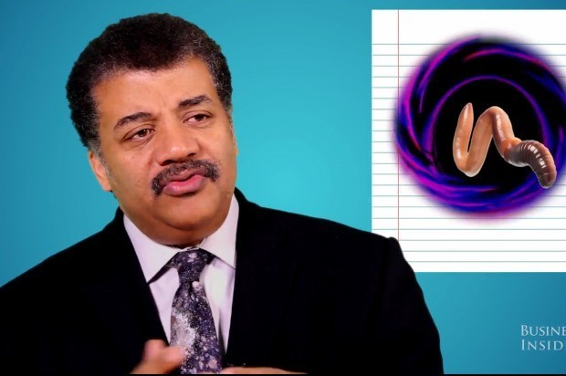 Neil deGrasse Tyson explaining black holes is just as awesome as it sounds