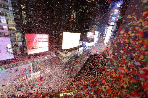 New Year's Eve in Pictures