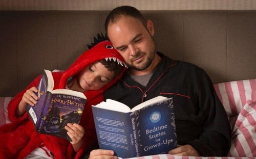 Trouble sleeping? Why adults need bedtime stories too
