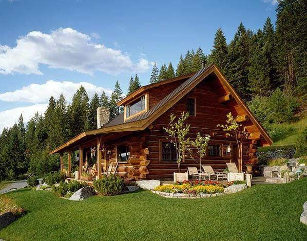Log Homes - cover