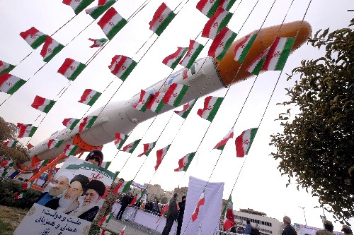 U.S. warns Iran on space launches, Tehran rejects concerns