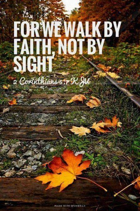 Faith it's the one thing I can always trust.