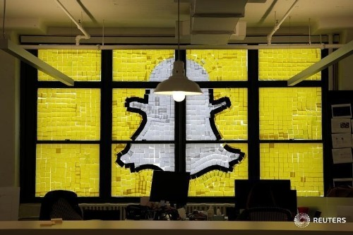 Snapchat opts for Morgan Stanley, Goldman Sachs to lead IPO: Bloomberg