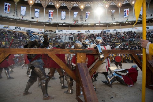 Medieval Battle of the Nations in Spain: Pictures