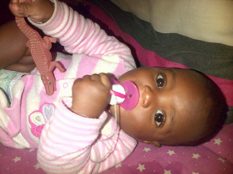 Dats my gal...so love her