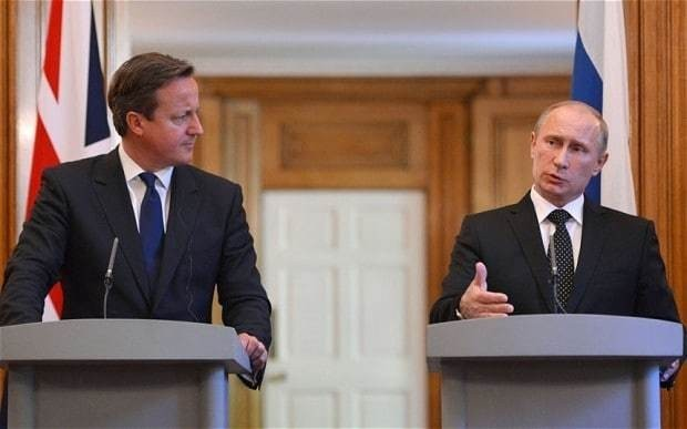 David Cameron compares Russia to Nazi Germany on eve of Putin meeting