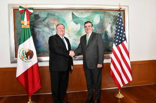 Pompeo to meet with Mexico's foreign minister to discuss immigration, trade