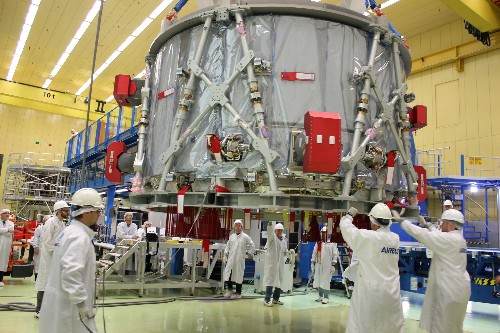 To the Moon and beyond: Airbus delivers powerhouse for NASA's Orion spacecraft
