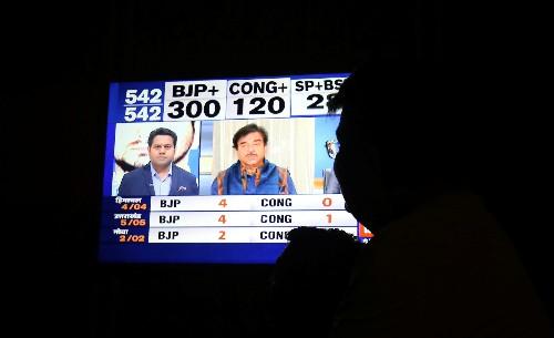 Modi set to sweep election, exit polls show
