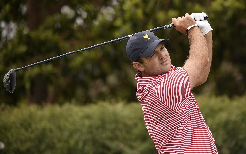 Patrick Reed hears the hecklers early at the Presidents Cup