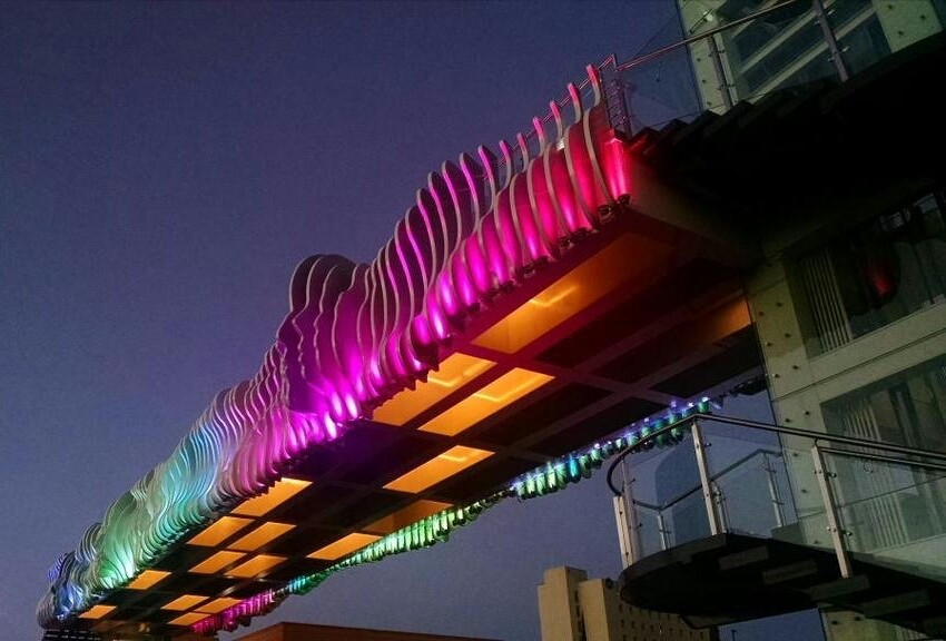Puente Peatonal LA FAMILIA
