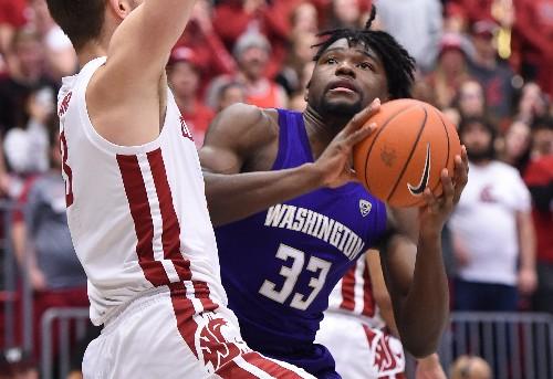 Washington State drops Washington behind Elleby's 34 points