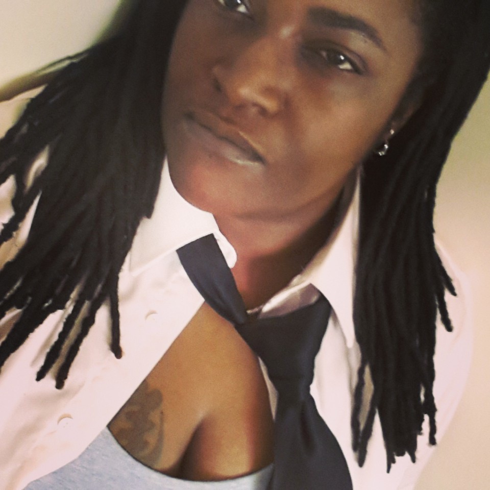God is...Therefore, I am. #adinkra #tattoo #locs #neckties