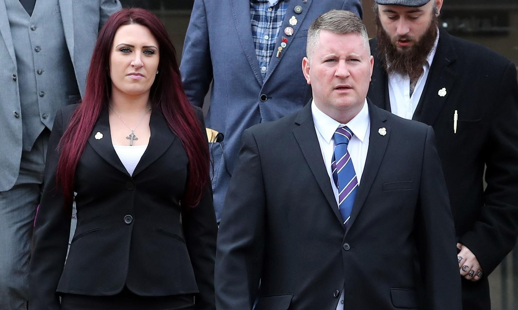 Britain First leaders jailed over anti-Muslim hate crimes