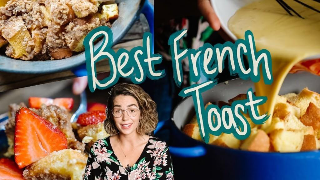 Simple & Easy Overnight French Toast Sooooooooo GOOD