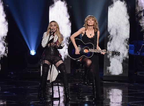 Madonna and Taylor Swift Perform at iHeartRadio Music Awards
