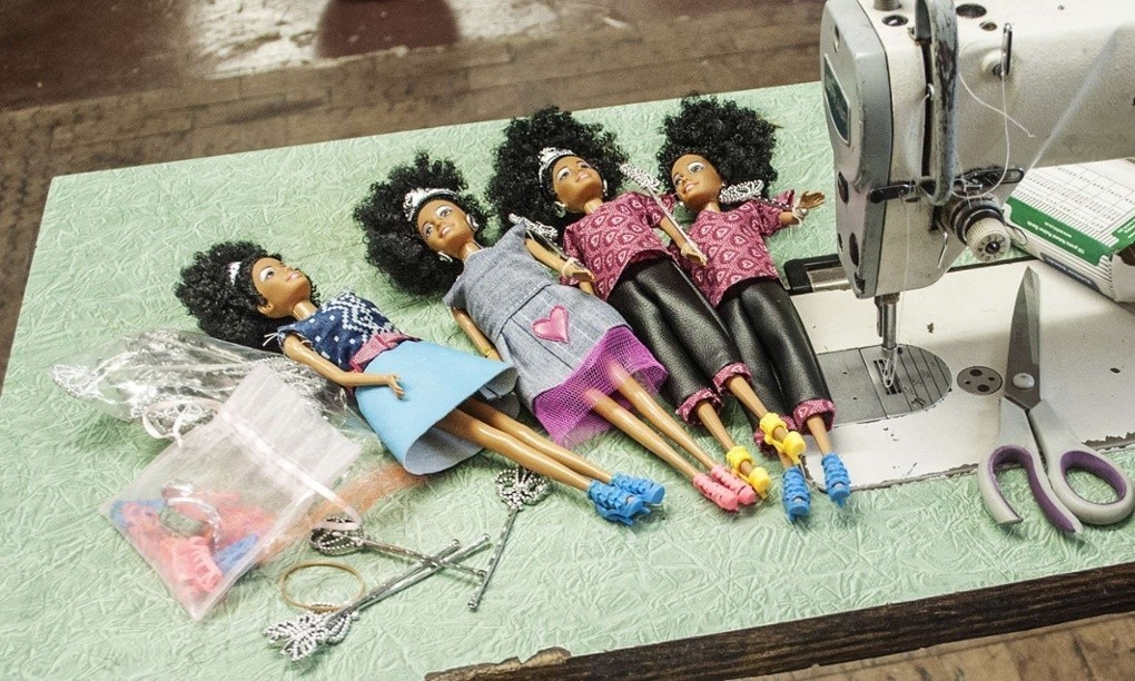 South African black doll breaks the Barbie mould in style