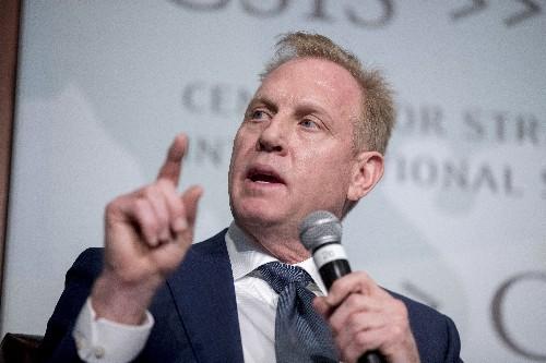 Probe clears acting defense head of alleged bias in Pentagon