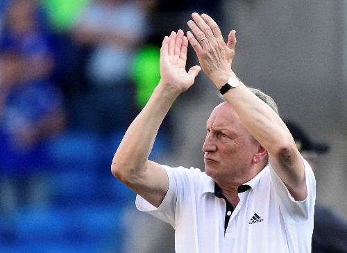 Soccer: Cardiff surviving drop would be my biggest achievement, says Warnock