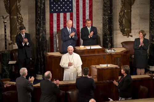 Pope Francis Addresses Congress: Pictures