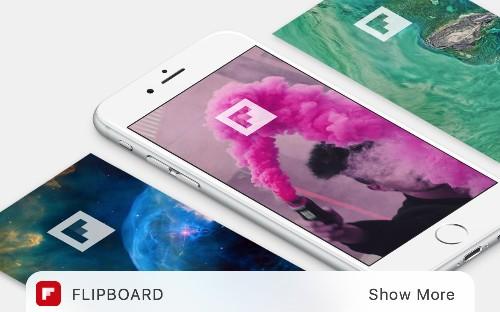 iOS 10에서 Flipboard 위젯을 만나세요