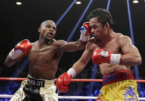 Mayweather Defeats Pacquiao: Pictures