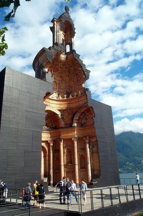 viola ⛪ San Carlo Church - Lugano - Switzerland