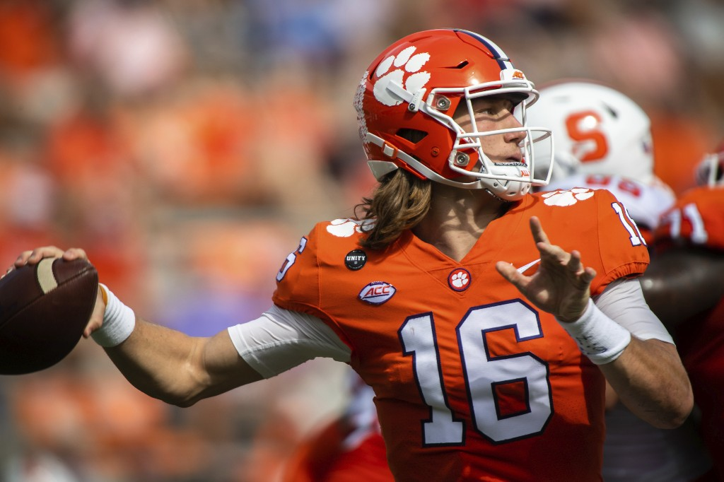 Clemson coach: QB Lawrence doing 'great,' no new positives