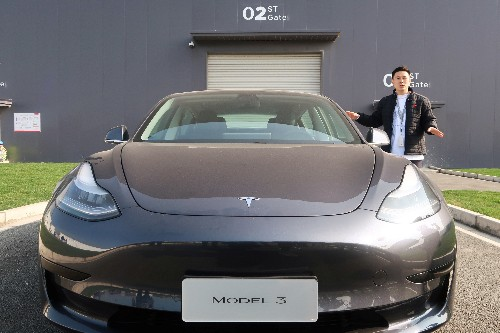Tesla feiert in China Start der E-Auto-Auslieferung
