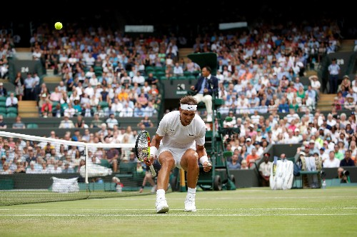 Nadal topples Querrey to set up blockbuster Federer semi