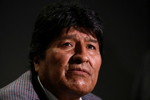 Bolivia's interim leader says arrest warrant to be issued against Morales