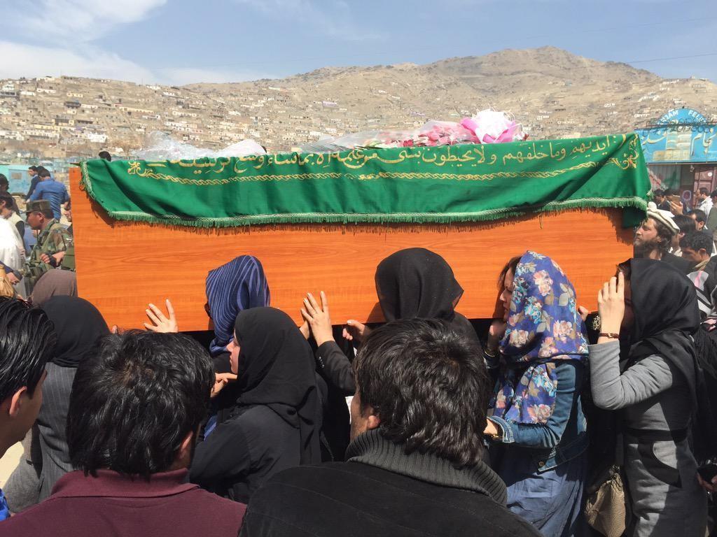 شهادت فرخنده در کابل افغانستان  - Magazine cover