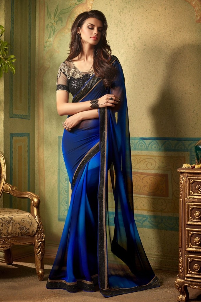 Finest Collection Of Designer Sarees from SareesBazaar - cover