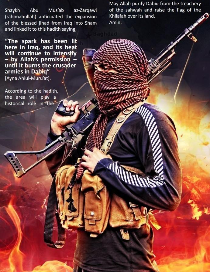 ISIS - JIHAD - TERRORISM & WAR NEWS - Magazine cover