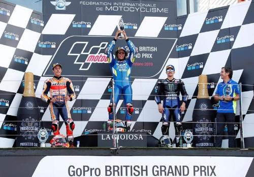 Rins remporte le GP de Silverstone