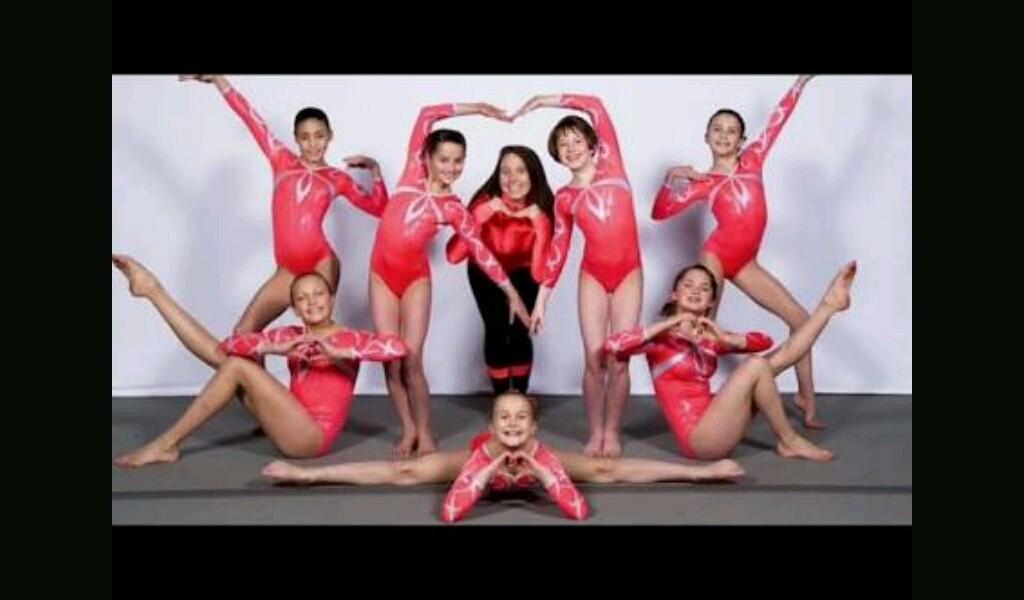 Gymnastics - Magazine cover