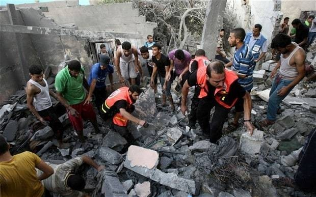 Gaza conflict: Israel and Hamas agree 12-hour ceasefire