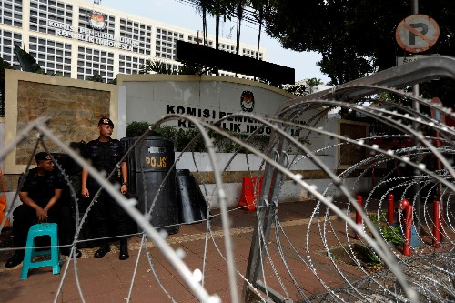 Indonesia steps up security ahead of presidential election result