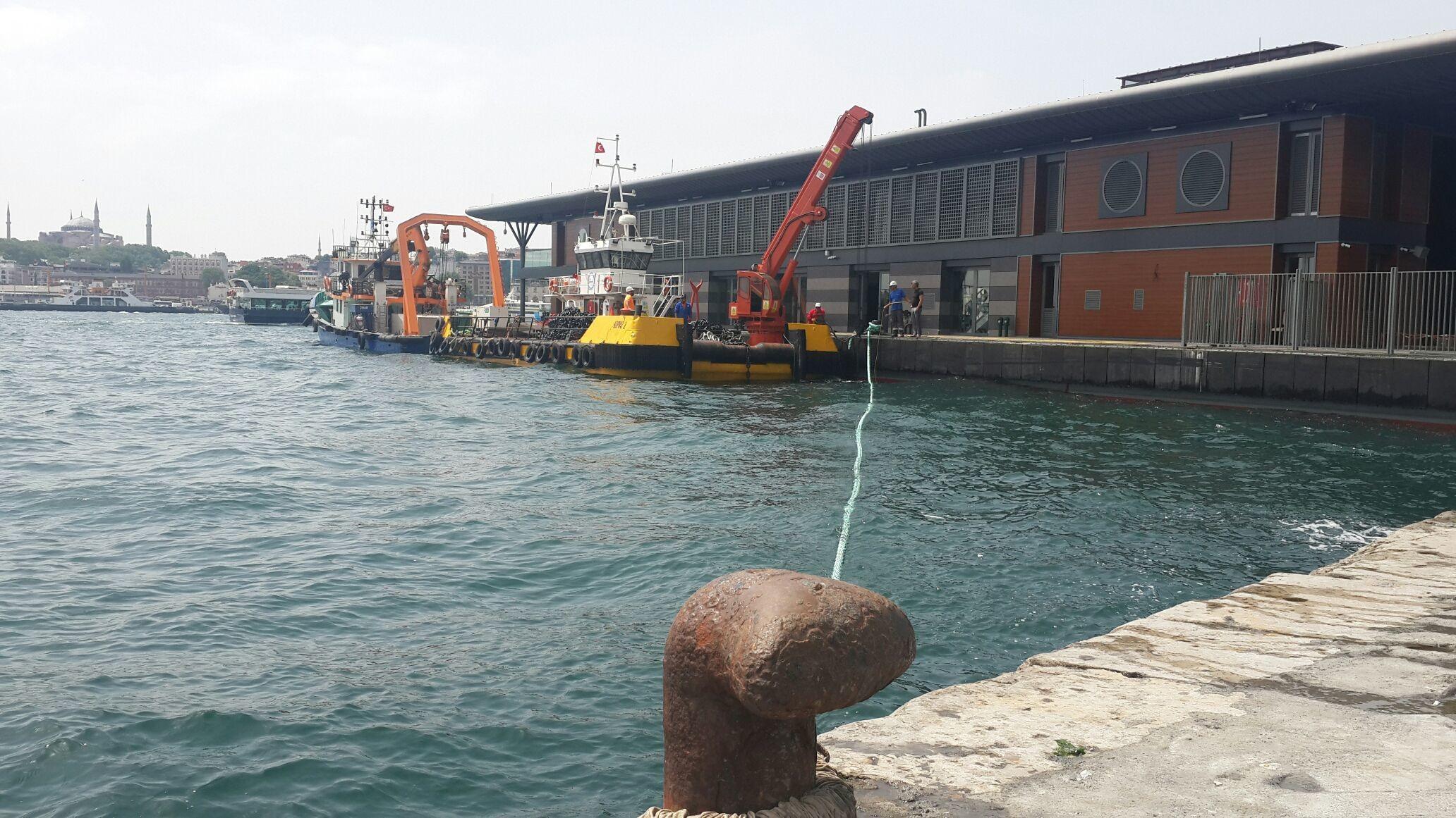 Yeni Karaköy İskelesi, yakında hizmete açılacak. Hayırlı olsun
