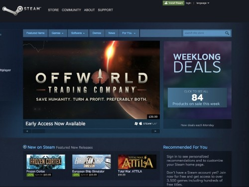Gaming platform Steam confirms it was attacked by hackers on Christmas