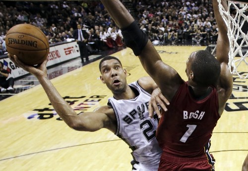 Spurs Beat the Heat and heat: Photo Gallery