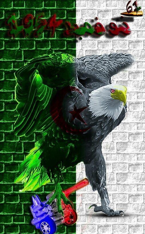 بمناسبة الذكري 61 لاندلاع الثورة الجزائرية اتقدم باجمل التهاني للشعب الجزائري الصامد الذي ضحي بكل ما لديه من اجل الوطن فتحية لكل شعب الجزائر.