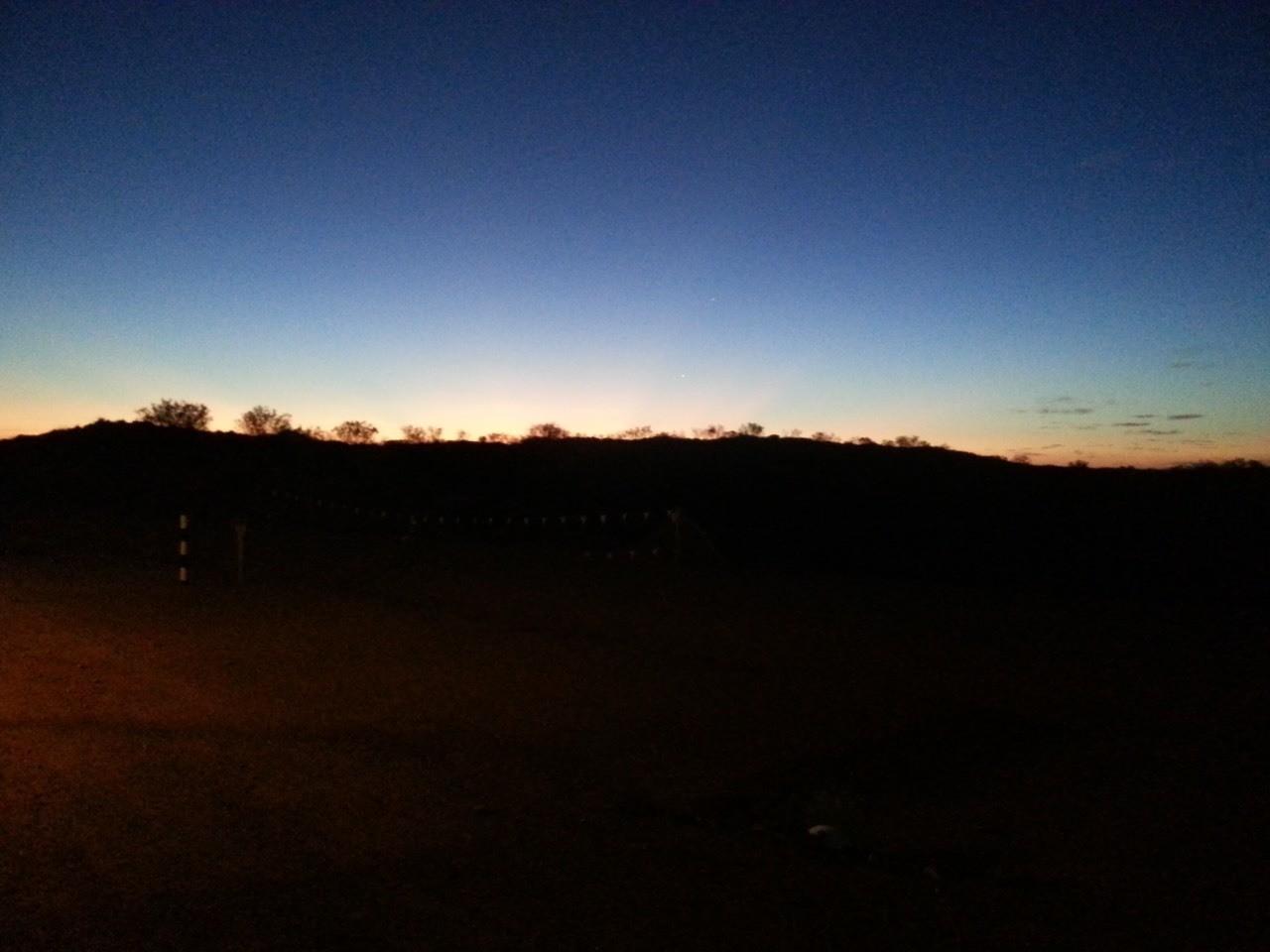 W.a sunset